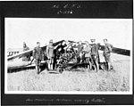 """""""84 C.T.S. C-586, Air Mechanic Wilson nearly killed"""" (3329371214).jpg"""