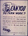"""Can You Do Farm Work"" - NARA - 514023.jpg"