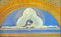 """""""The Kiss"""", mosaïque de la tour du mariage (Darmstadt) (8034067782).jpg"""