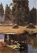 'Moret sur Loing' by D. Howard Hitchcock, 1893.jpg