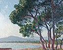 'Plage de Juan-les-Pins' by Claude Monet, 1888.jpg