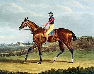 Theodore (horse) - Theodore', the Winner of the Great St. Leger at Doncaster, 1822 by John Frederick Herring, Sr.