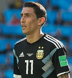 argentina 7 angel di maria home youth kids child 2016 2017
