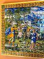 Écouen (95), château, 2e étage, salle de céramique française 5.jpg