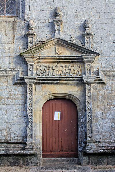 Église Notre-Dame-de-la-Fosse: porte sud-est