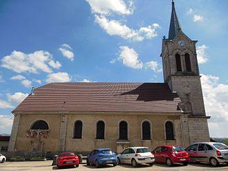 Fournet-Blancheroche - Image: Église Notre Dame des Victoires de Fournet Blancheroche