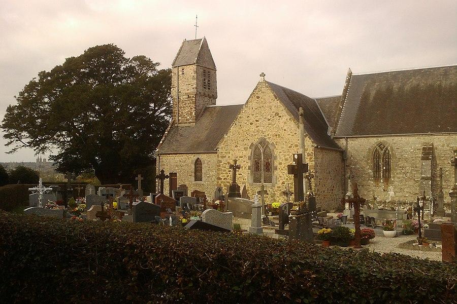 Cimétière et Église Saint-Corneille de fr:Nicorps