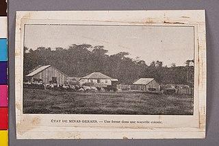 État de Minas Geraes - Une Ferme Dans Une Nouvelle Colonie