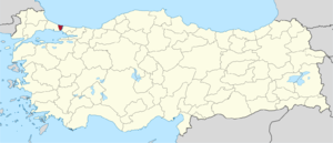 İstanbul (2nd electoral district) - Image: İstanbul (II) in Turkey