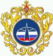 Большая эмблема Космических войск России