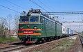 ВЛ10-1407, Россия, Ленинградская область, станция Пелла (Trainpix 196544).jpg