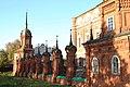 Вид на ограду Волоколаского кремля от юго-западной к северо-западной башне.jpg