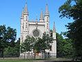 Готическая церковь св. Александра Невского, Россия, Санкт-Петербург, Петергоф, парк Александрия (2).JPG