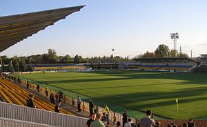FC Oleksandriya - Nika Stadium (former Shakhtar Stadium)