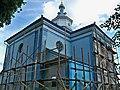 Клевань.Церква Різдва Христова на реставрації.jpg
