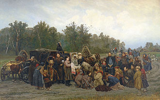 Konstantin Savitsky - Ikon on the road