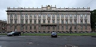 building in Saint Petersburg