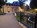 Оборонительные сооружения Смоленска, Лопатинский сад, фрагмент крепостной стены.jpg