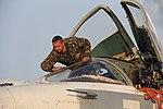 У небі Волині тренується авіація Повітряних Сил ЗС України (26855462880).jpg