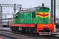 ЧМЭ3-3536, Russia, Chelyabinsk region, Chelyabinsk-Main station (Trainpix 214048).jpg