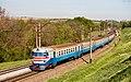 ЭР1-207, Украина, Днепропетровская область, перегон Илларионово - Игрень (Trainpix 197015).jpg
