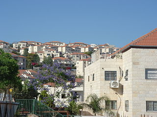 Gush Etzion cluster of Israeli settlements located in the Judaean Mountains