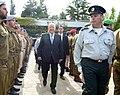 מסדר 120 החיילים המצטיינים במשכן הנשיא יום עצמאות ה-67.jpg