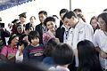 นายกรัฐมนตรี ณ โครงการตรวจสุขภาพและเฝ้าระวังโรคของประช - Flickr - Abhisit Vejjajiva (4).jpg