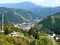 """「みはらし台」より妹背大橋方面を望む View from """"Miharashi-dai"""" 2010.4.25 - panoramio.jpg"""