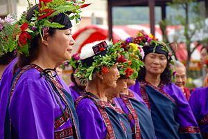 Taivoan people - Image: 小林村大武壠族人