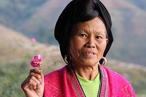Yao people - A Yao woman