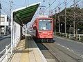 豊橋鉄道東田本線 運動公園前駅 Undōkōen-mae station, Toyotetsu Azumada line 2009.1.19 - Panoramio 56087833.jpg