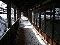 黒石 こみせ通り 冬期 - panoramio.jpg