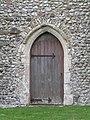 -2019-01-03 Side doorway, North facing elevation, All Saints parish church, Mundesley.JPG