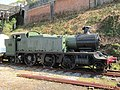 -2019-04-20 GWR 5101 Class 4110, Kingswear railway station, Devon, Dartmouth.JPG