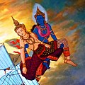 002 Energy, Janaka swims for Seven Days and is saved by Devi Manimekhala (cropped).jpg