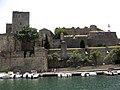 010 Castell Reial, façana est, amb la torre gòtica.jpg