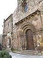 014 Iglesia de los Padres Franciscanos (Avilés), portals de la façana oest.jpg