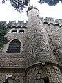 019 Castell de Santa Florentina (Canet de Mar), torre sud-est.JPG