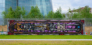 03-05-2014 - Graffiti near European Central Bank - EZB - Frankfurt Main - Germany - 03.jpg