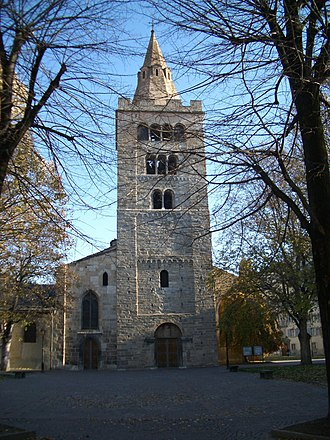 Roman Catholic Diocese of Sion - The Cathedral of Notre Dame du Glarier