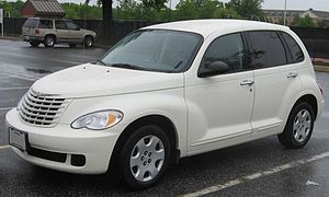 2006-2008 Chrysler PT Cruiser photographed in ...