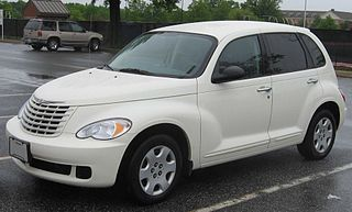 Chrysler PT Cruiser retro styled compact automobile