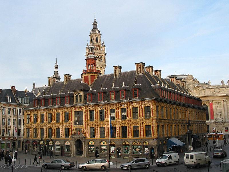 Vielle bourse du travail de Lille par Jean-Pol GRANDMONT