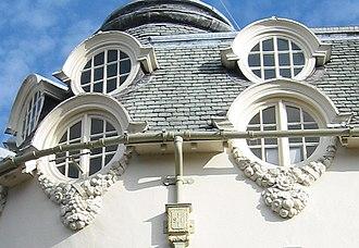 1–5 Pillory Street, Nantwich - Dormer windows