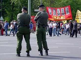 Communist Party of Turkey/Marxist–Leninist - TKP/ML banner during 1st of May demonstration in Berlin (2005)