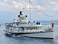 100 Jahre Dampfschiff 'Stadt Rapperswil' - Tag der offenen Dampfschiff-Türe am Bürkliplatz - Alpenquai 2014-04-26 17-47-40 (P7700).JPG