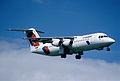 102ah - Crossair Avro RJ 100; HB-IXN@ZRH;09.08.2000 (5066591911).jpg