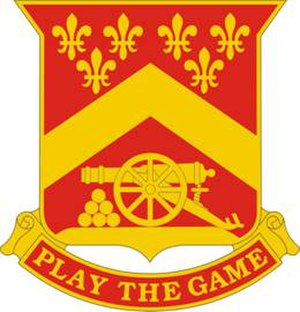 103rd Field Artillery Regiment - 103rd FA Regiment Distinctive Unit Insignia