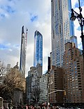 Pencil towers in New York City